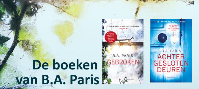 Auteursbezoek BA Paris