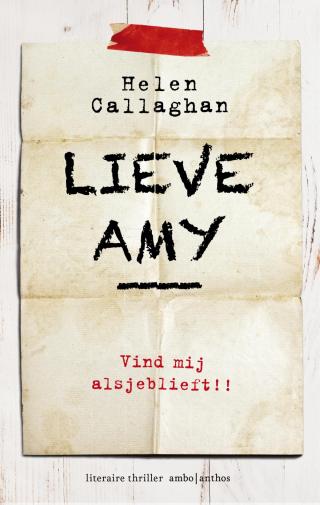 Lieve Amy - Helen Callaghan